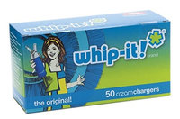 Whip-It! Brand: The Original Whipped Cream Chargers (120 pack)