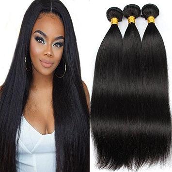 Colorful Bird Brazilian Straight Virgin Hair 3 Bundles Unprocessed Straight Human Hair Extensions 14 16 18 inch Straight Hair Weave Natural Black