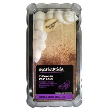 Marketside Tiramisu Bar Cake, 26 oz