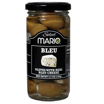 Mario Camacho Foods Green Olives stuffed with Bleu Cheese, 4.5 Fluid Ounce [Bleu Cheese Stuffed]