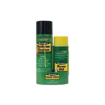 Remington Cleaning Combo Lube/Cleaner Liquid 10oz Oil/18oz Shotgun Cleaner Aerosol Can 18131