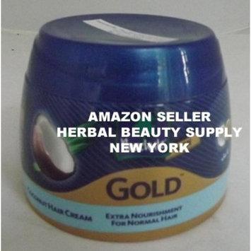 Parachute Gold Hair Cream Anti Hair fall - 4.7 fl.oz. (140ml) - Contains Garlic And Coconut