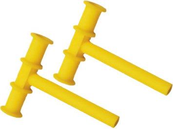 Chewy Tubes Sensory Teether - Yellow - 2 Count