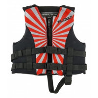 Flowt 40219-CLD All Purpose Character Life Vest Red - Lightweight Neoprene EPE foam & Child