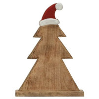 Wooden Carved Adorable Christmas Tree