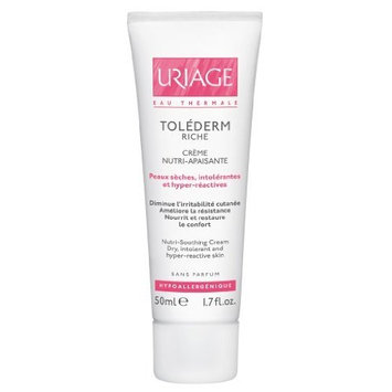 Uriage Tolederm Riche Nutri Soothing Cream for Dry, Intolerant and Hyper Reactive Skin 50 Ml