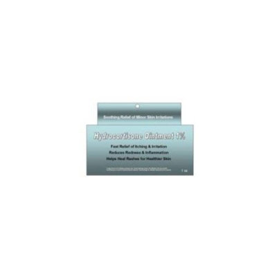 5 Pack Taro OTC Hydrocortisone 1% Maximum Strength Anti-Itch Ointment 1 oz Each