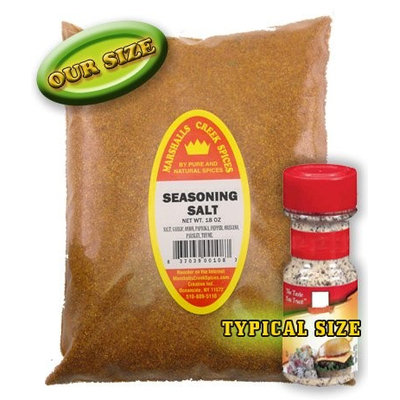 Marshalls Creek Spices SEASONING SALT REFILL - FRESHLY PACKED IN FOOD GRADE HEAT SEALED POUCHES