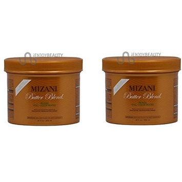 [ LIMITED PACK OF 2] MIZANI BUTTER BLEND RELAXER ( FINE/COLOR TREATED) 30oz ea: Beauty