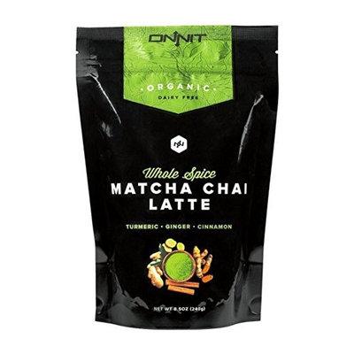 Onnit Organic Whole-Spice Matcha Chai Latte (240g)