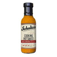 Schultz's Gourmet Cooking Hot Sauce, Spicy Original, 13 Oz