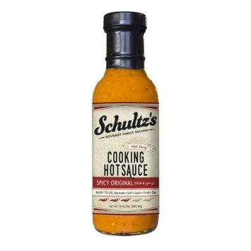 Schultz's Gourmet Cooking Hot Sauce, Spicy Original, 13 Oz
