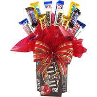 Candy Blossoms Candyblossoms M'S Assorted Candy Holiday Gift Basket, 15 pc