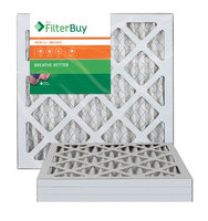 AFB Bronze MERV 6 13.25x13.25x1 Pleated AC Furnace Air Filter. Filters. 100% produced in the USA. (Pack of 4)