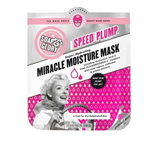 Soap & Glory Speed Plump Miracle Moisture Mask - .88oz