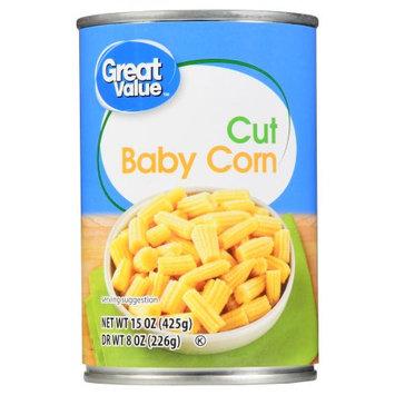 Great Value Cut Baby Corn