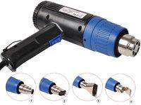 Goplus 1500W Heat Gun Hot Air Gun Dual Temperature+4 Nozzles Power Tool 2 Year Warranty