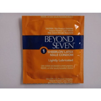 Okamoto BEYOND SEVEN Condoms - Also available in quantities of 12, 50, 100 - (25 condoms)