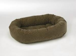 Bowsers Donut Dog Bed In Houndstooth - Size: Small (27