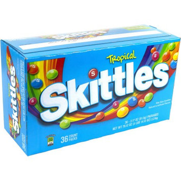 Bali Skittles Tropical Candy, (Pack of 36)