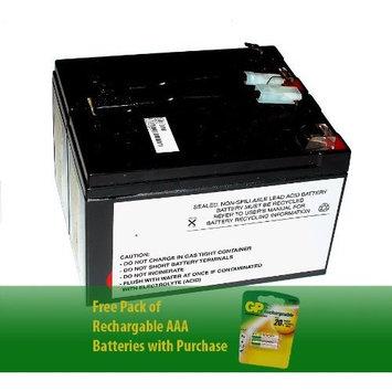 Sealed Lead-Acid battery for APC SLA9-BTI 12V, 7Ah