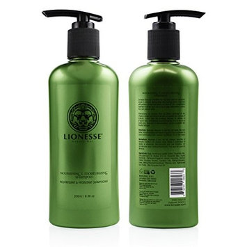 Lionesse Moisturizing Hair Shampoo with Olive Oil, 200 Ml / 6.8 Fl. Oz