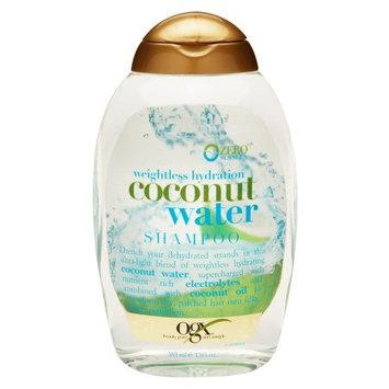 OGX Weightless Hydration Coconut Water Shampoo 13.0 fl oz(pack of 6)