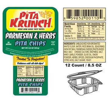 Supplier Generic Pita Krunch /Pita Chips - Parmesan & Herbs