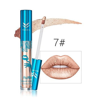 Creazy New Holographic Lip Gloss Metallic Diamond Lasting Lipstick Shine Holo Glam