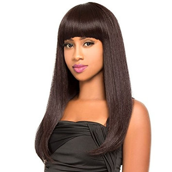 The Wig Natural Human Hair Blend Wig HH-DODO