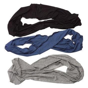 HBY Mens Womens Elastic Bandana Headband Long Hair Dreads Head wrap