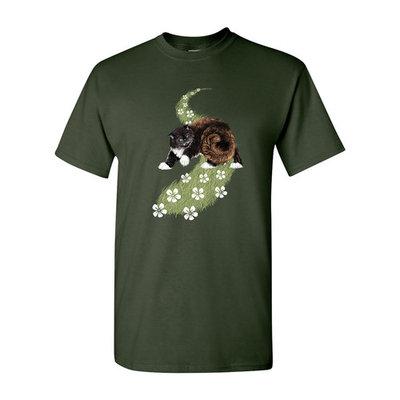 All Seeing Cat Animal Pet Tanya Ramsey Artworks Art DT Adult T-Shirt Tee