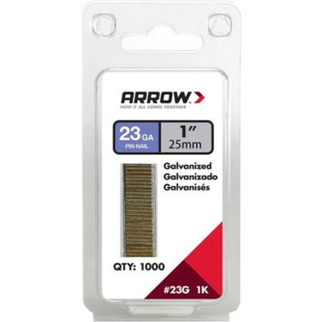 Arrow 1 in. L 23 Ga. Galvanized Trim Pin Nails 1 000 pk(23G25-1K)
