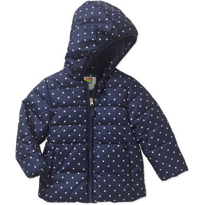 Baby Toddler Girl Bubble Puffer Jacket