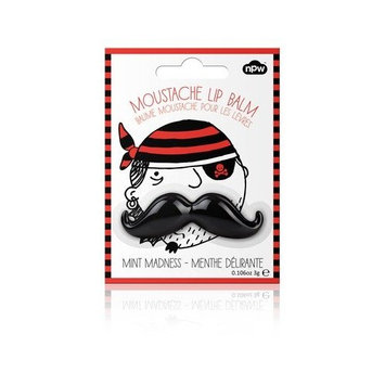 NPW Black Mint Madness Mustache Lip Balm!