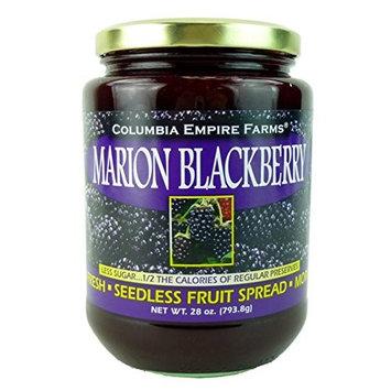 Columbia Empire Farms Marion Blackberry Farm Fresh Seedless Fruit Spread 28 oz