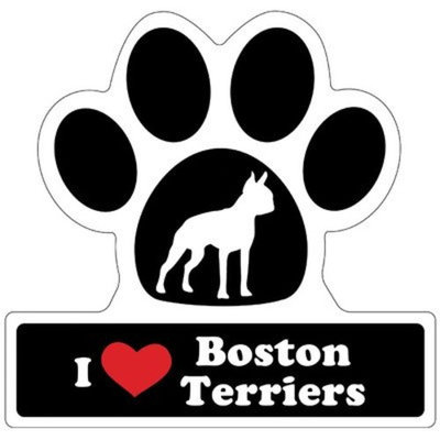 Smart Tag LittleGifts Car Magnet [Boston Terrier]