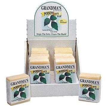 Remwood Prod. 67012 Grandma's Pure & Natural Poison Ivy Bar