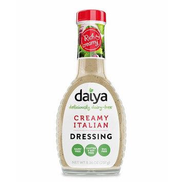 Daiya Creamy Italian Dressing, Dairy Free :: Rich & Creamy Salad Dressing :: Vegan, Gluten Free, Soy Free, Egg Free, Non GMO :: Classic Creamy Flavor for Pouring, Dipping or Marinade, 8.36-Oz. [Italian]