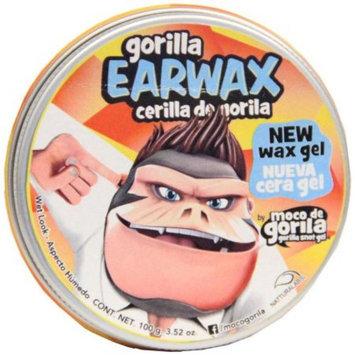 Moco de Gorila Gorilla Earwax Wet Look Hair Gel, 3.52 oz