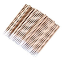Daycount 600pcs Pointed Cotton Swabs, Microblading Tattoo Supply Handle Makeup Cosmetic Applicator