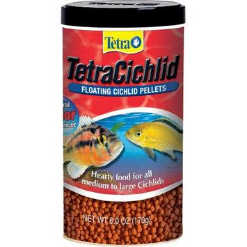 Tetra Pond TetraCichlid Floating Cichlid Pellets: 6 oz #77063 - Cichlid Food