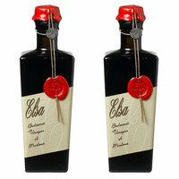 Elsa Aged Balsamic Vinegar of Modena, Vecchia Era, Aged 12 Years, 250ml (8.5oz) - Pack of 2