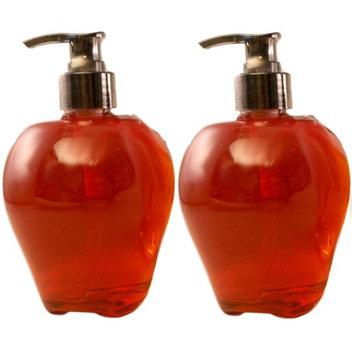 Thankgiving Harvest Hand Soap Set - 2 Bottles of Scented Autumn Soap