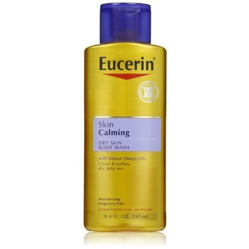 Eucerin Calming Body Wash Daily Shower Oil, 8.4, oz
