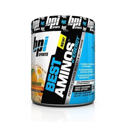 Best Aminos with Energy Hurricane Orange by BPI Sports Pre-workout (30 Servings)