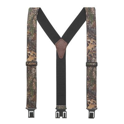 Perry Camo Suspenders - Belt Clip