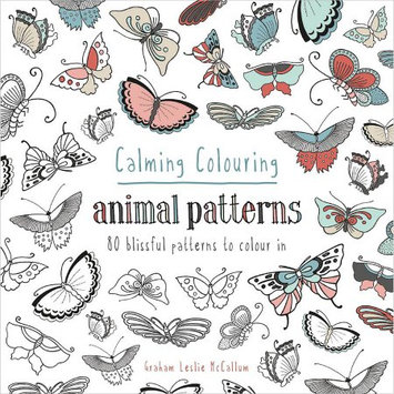 Sterling Publishing Pavilion Books-Calming Coloring: Animal Patterns