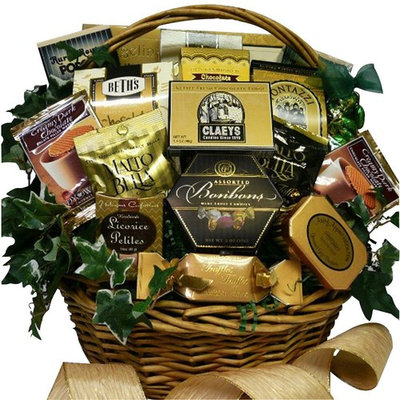 Sweet Sensations Cookie, Candy and Treats Gift Basket - LARGE (Candy Option)