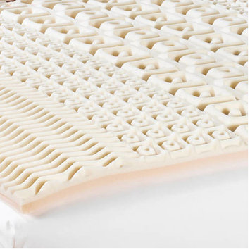 Mainstays 5 Zone 2 inch Contour Foam Topper in Multiple Sizes